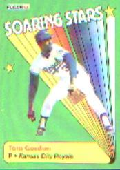 1990 Fleer Soaring Stars #7 Tom Gordon