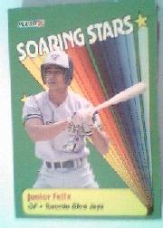 1990 Fleer Soaring Stars #9 Junior Felix
