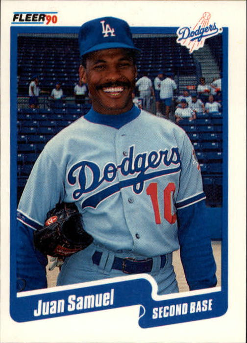1990 Fleer Update #25 Juan Samuel