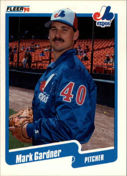 1990 Fleer Update #29 Mark Gardner