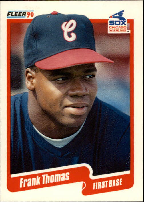 1990 Fleer Update #87 Frank Thomas RC