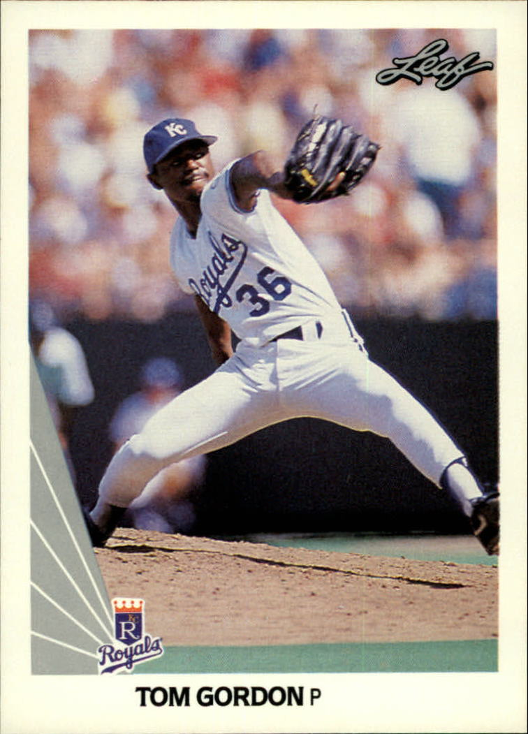 1990 Leaf #14 Tom Gordon