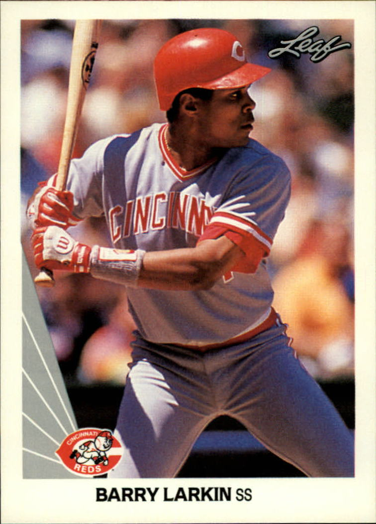 1990 Leaf #18 Barry Larkin