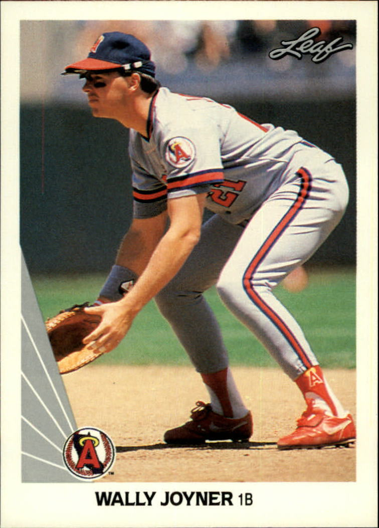 1990 Leaf #24 Wally Joyner