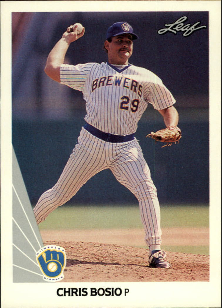 1990 Leaf #26 Chris Bosio