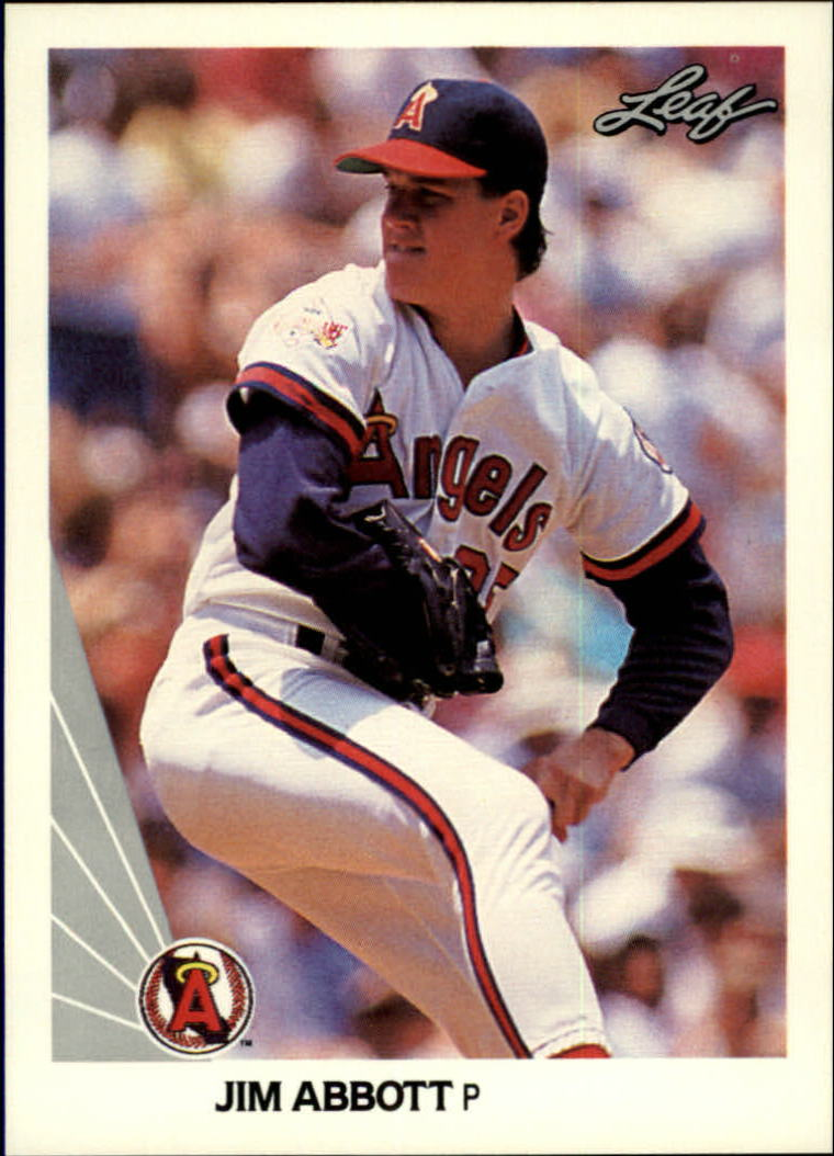 1990 Leaf #31 Jim Abbott