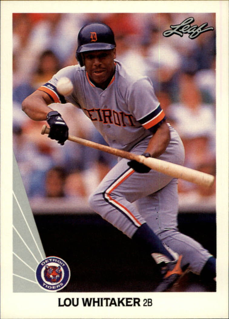 1990 Leaf #34 Lou Whitaker