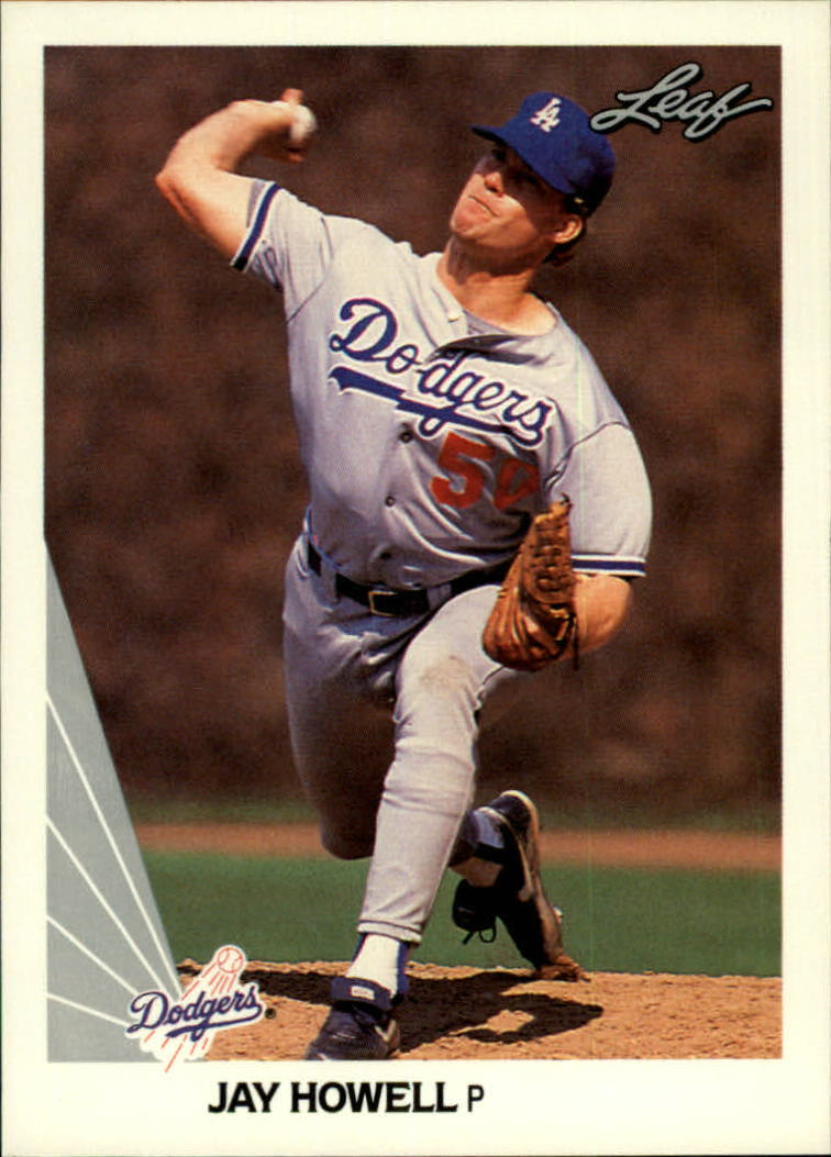 1990 Leaf #42 Jay Howell