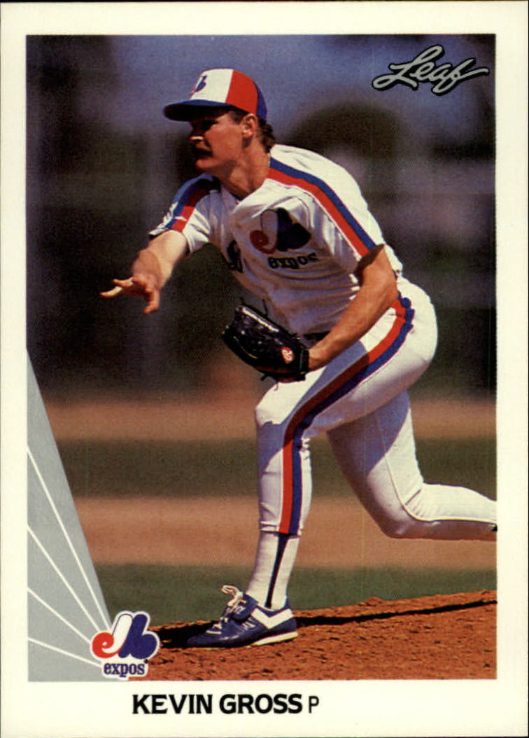 1990 Leaf #61 Kevin Gross