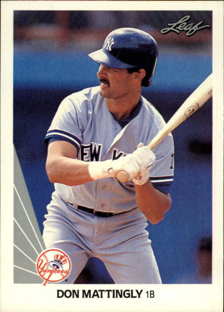 1990 Leaf #69 Don Mattingly front image