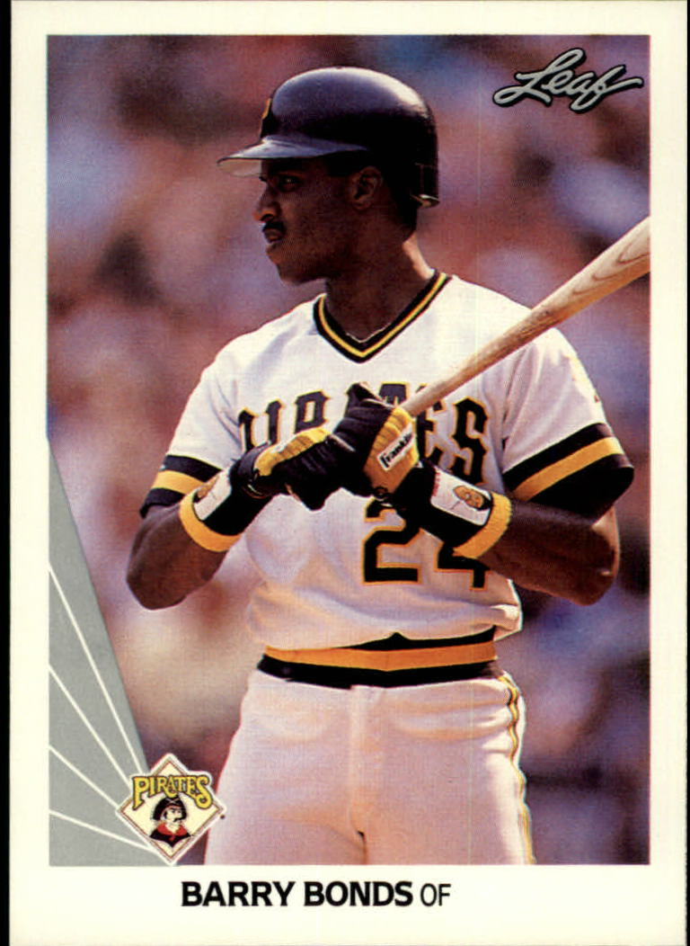 1990 Leaf #91 Barry Bonds