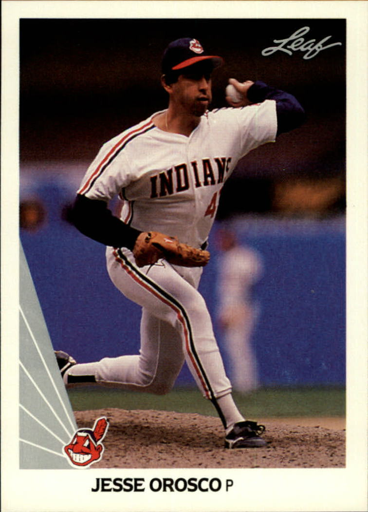 1990 Leaf #101 Jesse Orosco