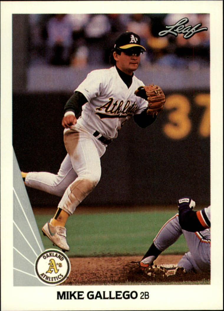 1990 Leaf #121 Mike Gallego