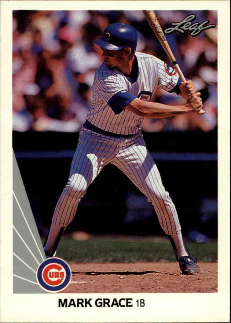 1990 Leaf #137 Mark Grace