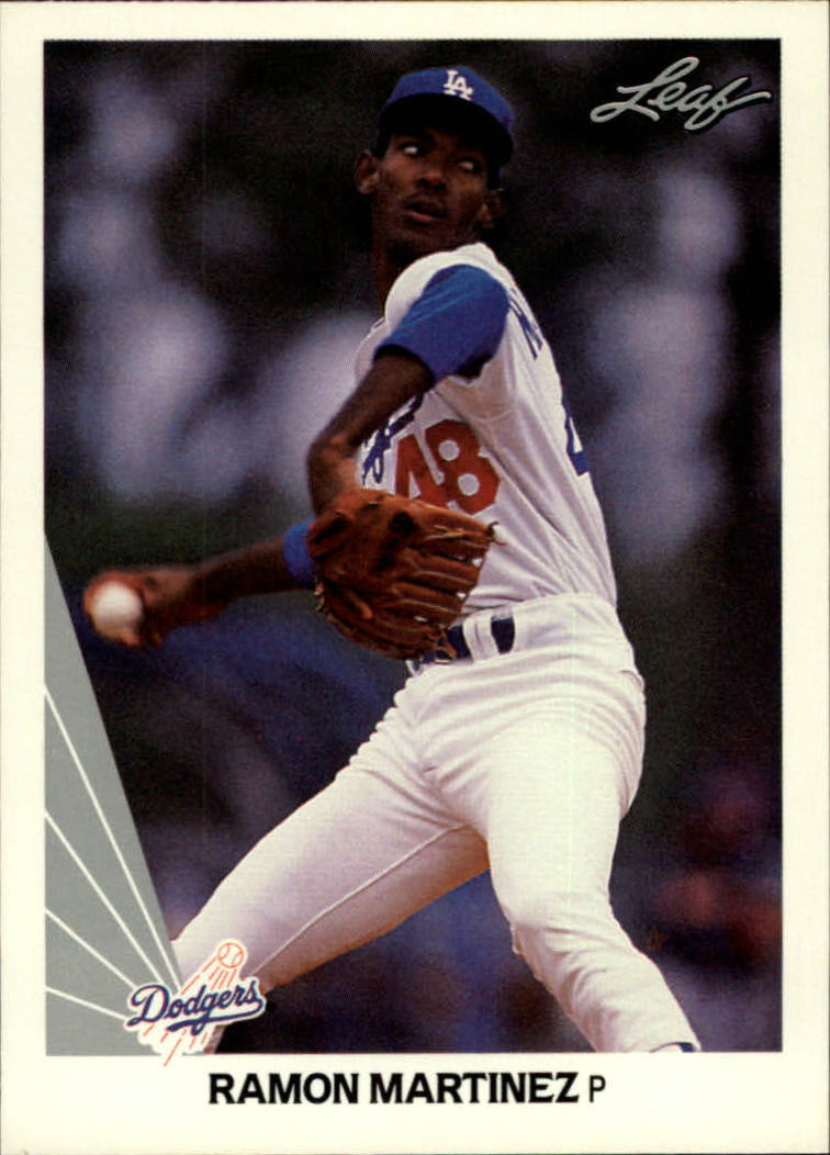 1990 Leaf #147 Ramon Martinez