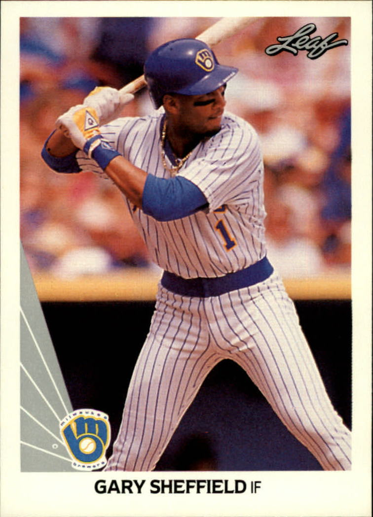 1990 Leaf #157 Gary Sheffield