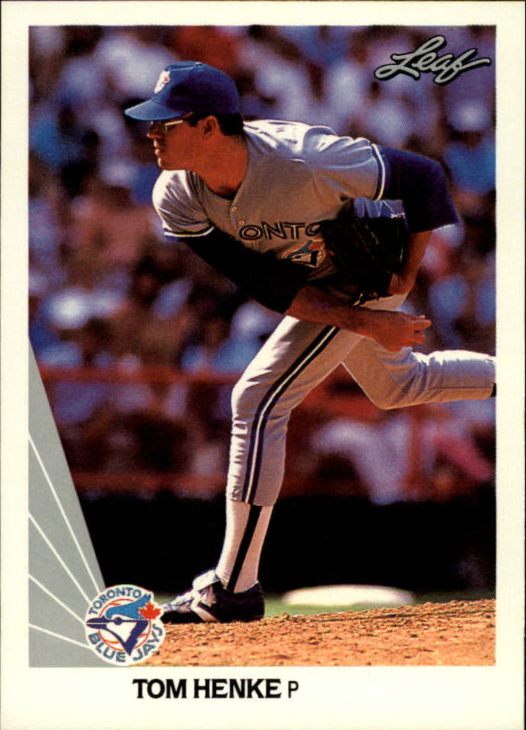 1990 Leaf #158 Tom Henke