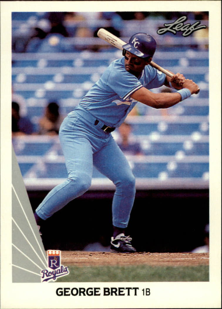 1990 Leaf #178 George Brett