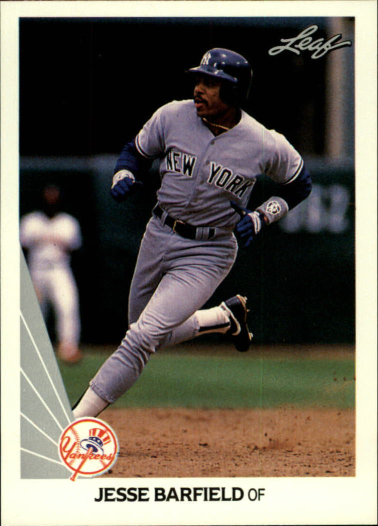 1990 Leaf #201 Jesse Barfield