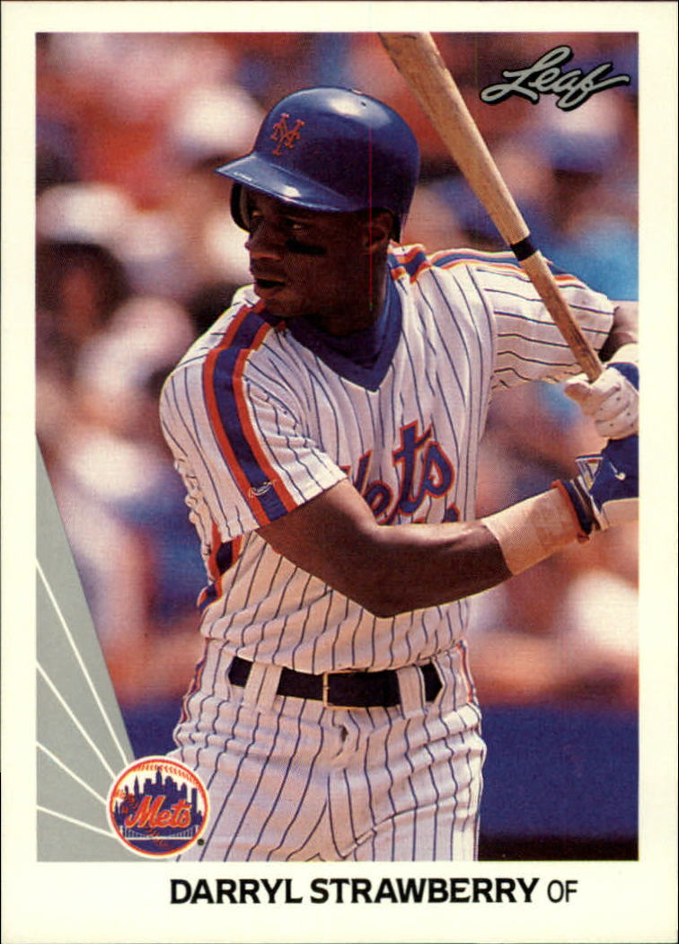 1990 Leaf #250 Darryl Strawberry