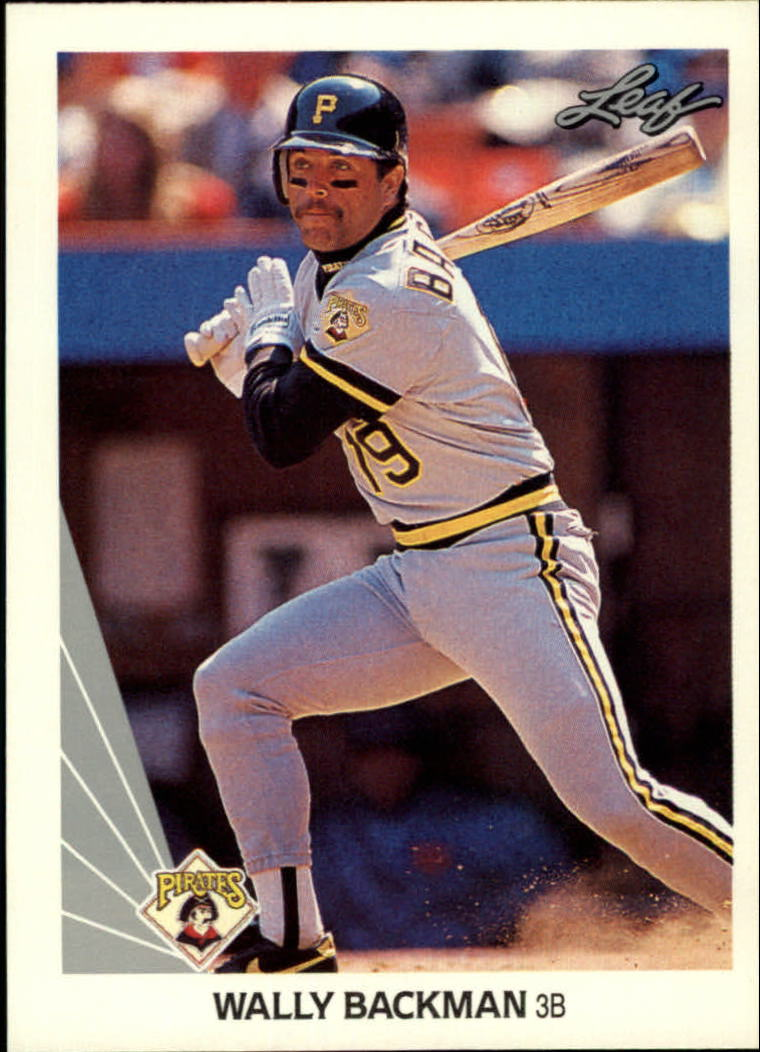 1990 Leaf #341 Wally Backman