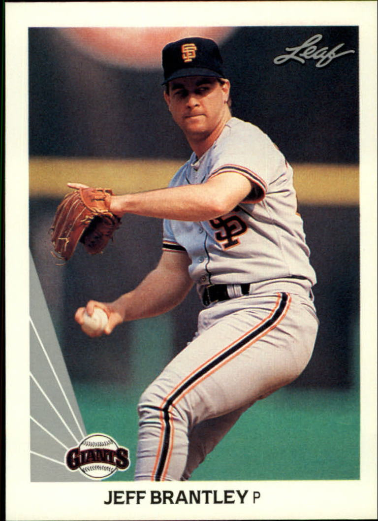 1990 Leaf #357 Jeff Brantley