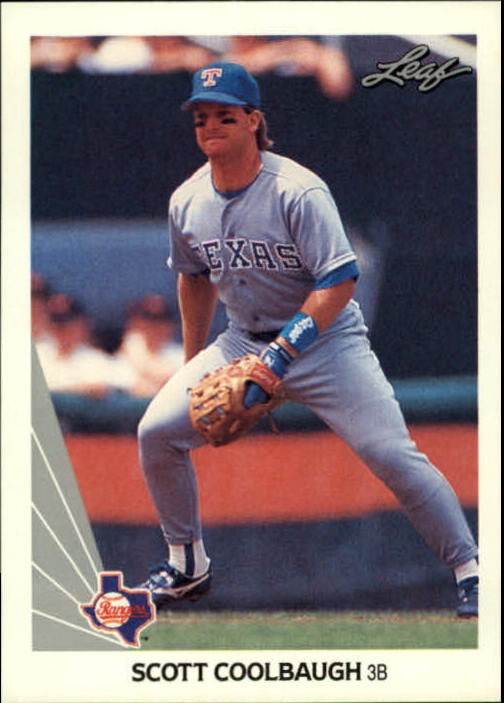 1990 Leaf #363 Scott Coolbaugh RC