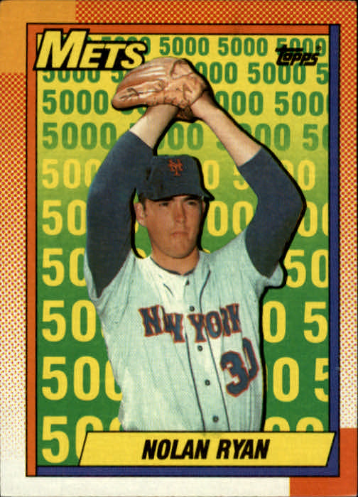 1990 Topps #2 Nolan Ryan Salute/New York Mets