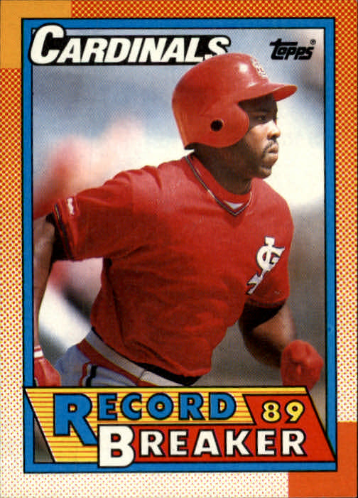 1990 Topps #6 Vince Coleman RB