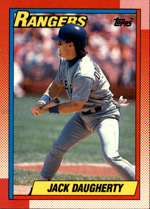 1990 Topps #52 Jack Daugherty RC