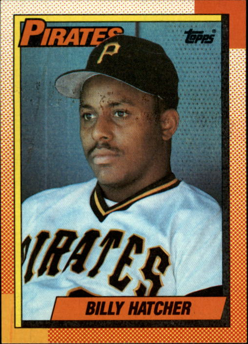 1990 Topps #119 Billy Hatcher