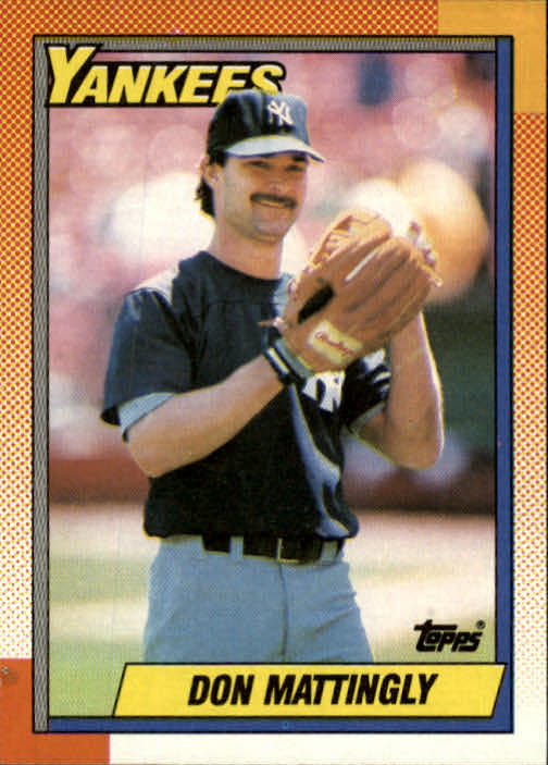 1990 Topps #200 Don Mattingly