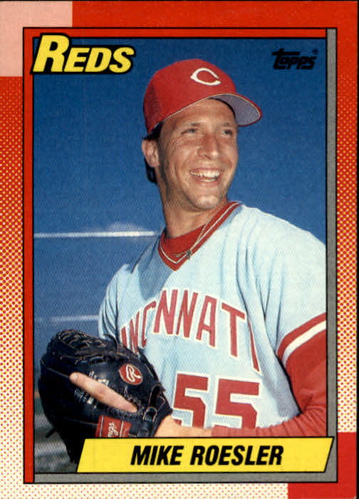 1990 Topps #203 Mike Roesler RC