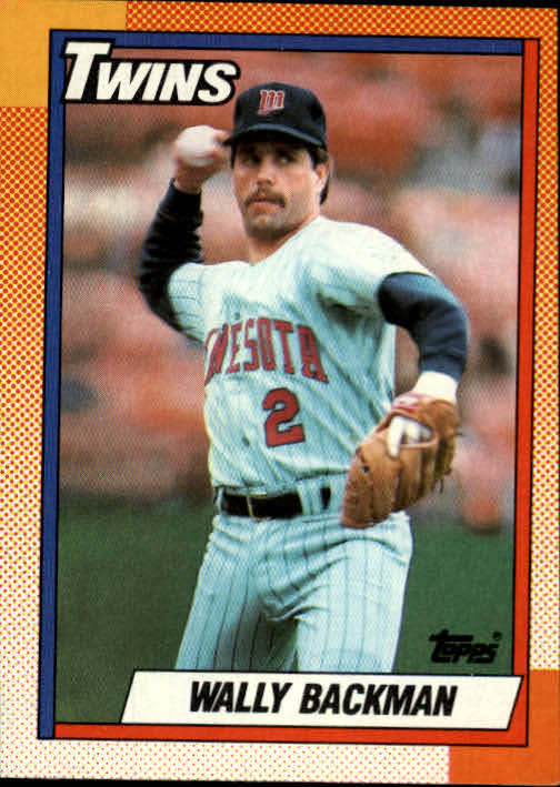 1990 Topps #218 Wally Backman