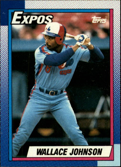 1990 Topps #318 Wallace Johnson