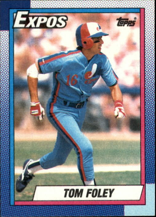1990 Topps #341 Tom Foley
