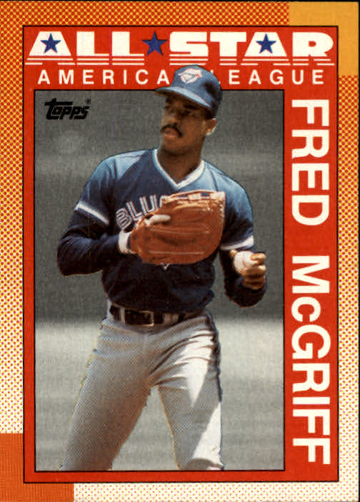 1990 Topps #385B Fred McGriff AS