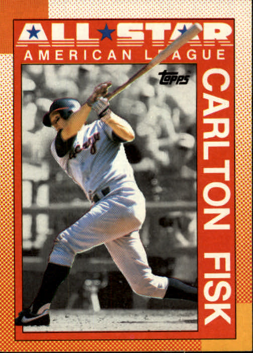 1990 Topps #392B Carlton Fisk AS