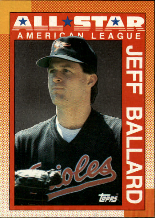 1990 Topps #394 Jeff Ballard AS