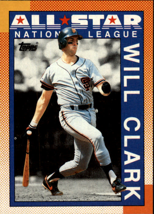 1990 Topps #397 Will Clark AS