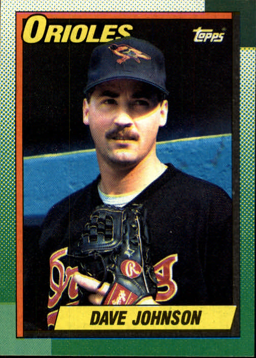 1990 Topps #416 Dave Wayne Johnson RC
