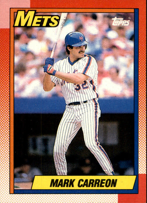 1990 Topps #434 Mark Carreon