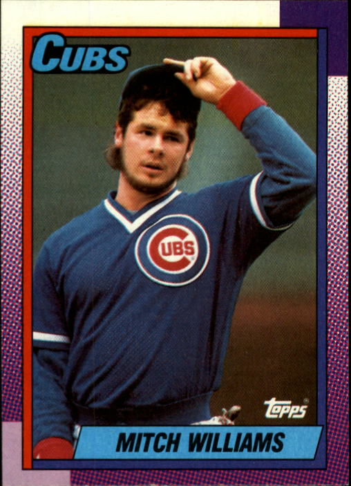 1990 Topps #520 Mitch Williams