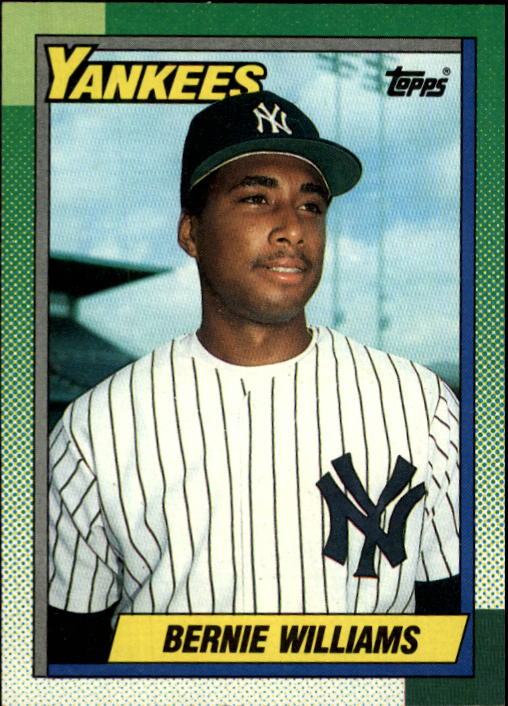 1990 Topps #701 Bernie Williams RC