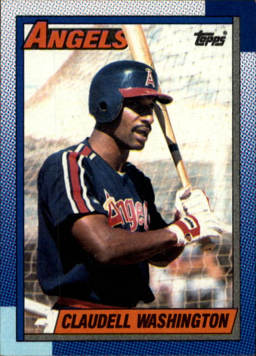 1990 Topps #705 Claudell Washington