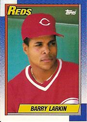 1990 Topps Tiffany #10 Barry Larkin