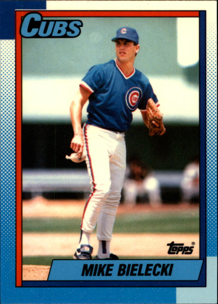 1990 Topps Tiffany #114 Mike Bielecki
