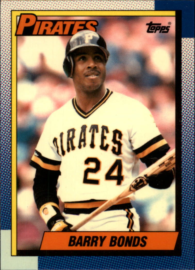 1990 Topps Tiffany #220 Barry Bonds