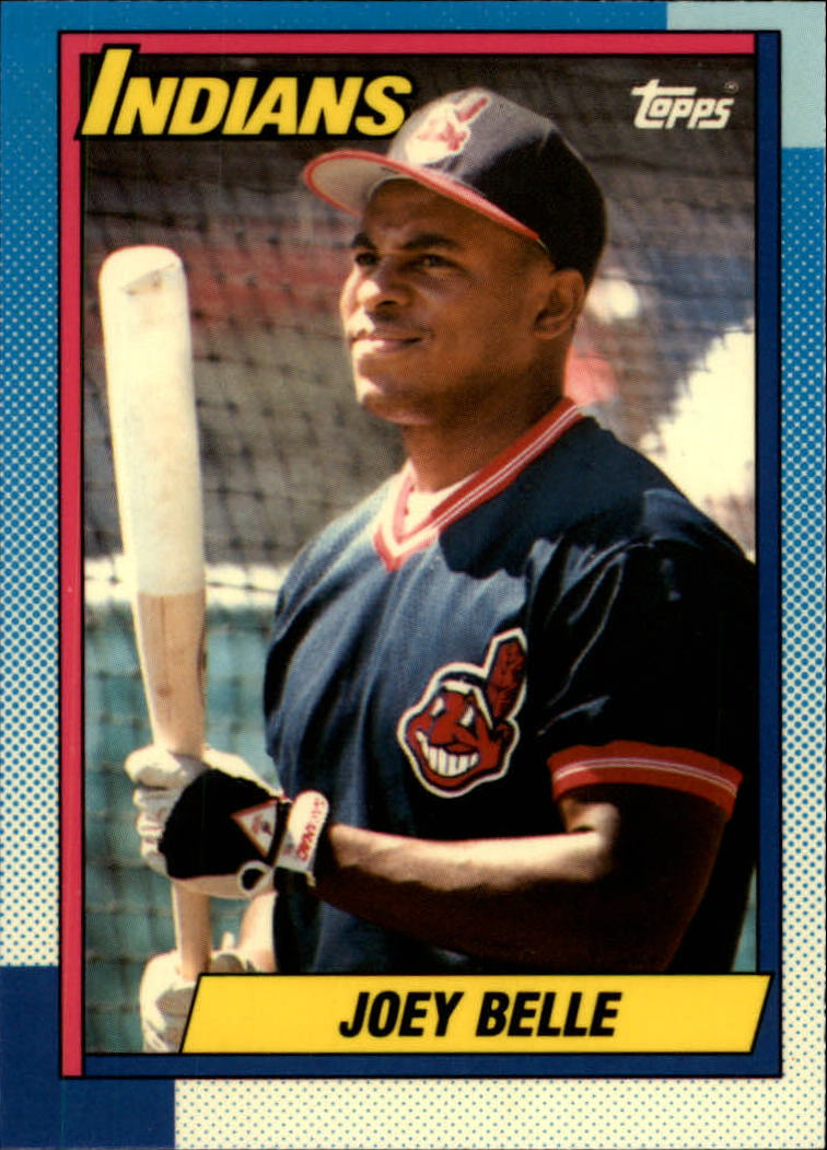 1990 Topps Tiffany #283 Albert Belle