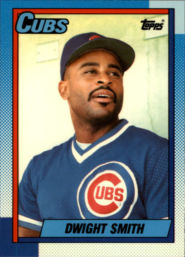 1990 Topps Tiffany #311 Dwight Smith